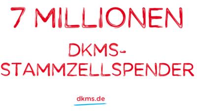 Sieben Millionen Stammzellspender bei der DKMS