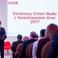 Präsentation der Patientenumfrage von DKMS Polen
