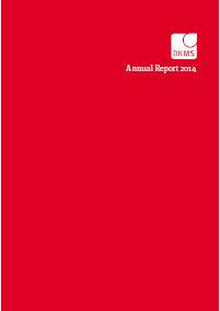 Geschäftsbericht 2014 (englisch)