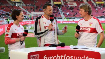 Vor dem Spiel VfB gegen Union Berlin