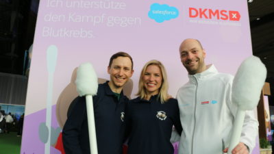 DKMS @ Salesforce World Tour@CeBIT 2017