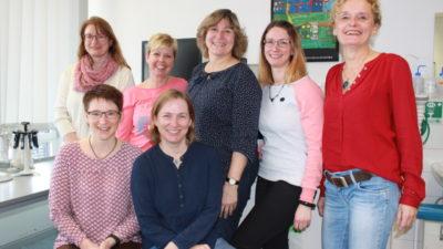 Teamfoto Klinisches Labor und Sucheinheit