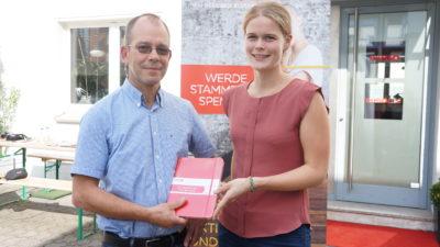 Heinz Wilden (l.) und Frauke Löpmeier