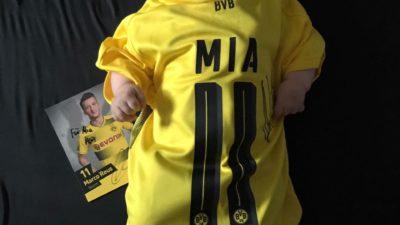 Baby Mias Schicksal bewegt Marco Reus