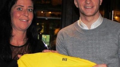 Marco Reus unterstützt die DKMS