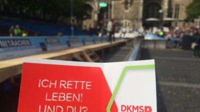 Bewegender Aufruf von Michael Mronz beim Aachener Domspringen