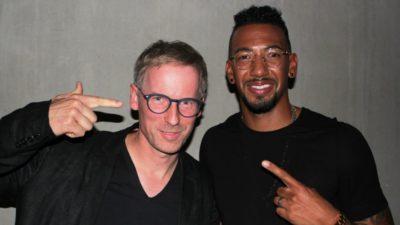 Bert Spangemacher und Jerome Boateng