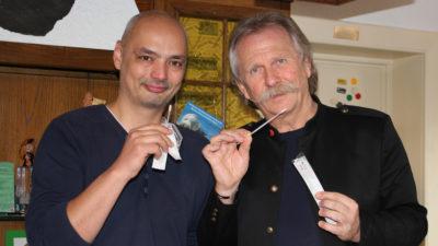 Henning Krautmacher engagiert sich für Annika