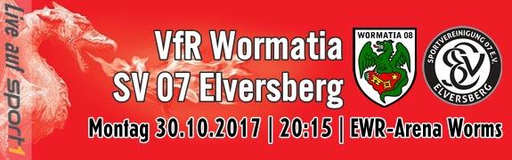 Wormatia Worms gegen Elversberg