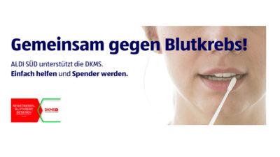 ALDI SÜD unterstützt DKMS