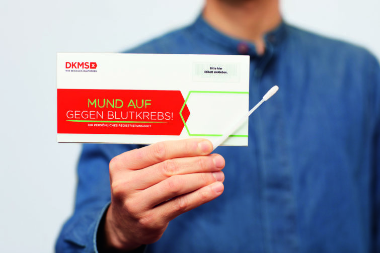 DKMS Registrierungsset