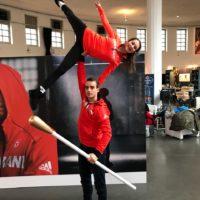 Annika Hocke und Ruben Blommaert DKMS