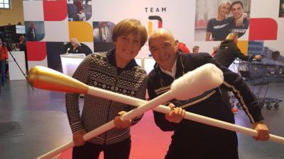 Gold fürs Leben - Team DKMS trifft auf sportliche Unterstützer