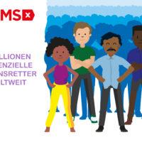 Achtmillionster DKMS Spender