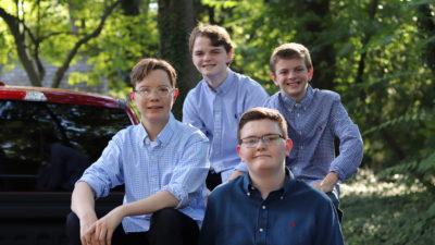 Vier Brüder brauchen Stammzellspende