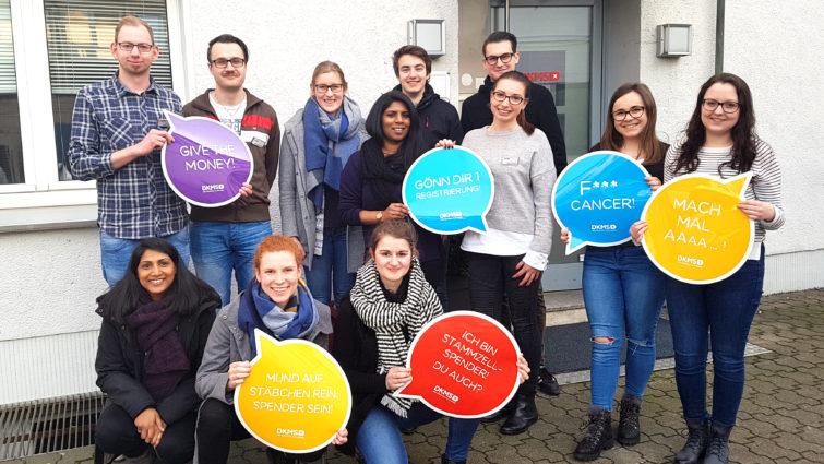 DKMS-Volunteers: Freiwillige vor!