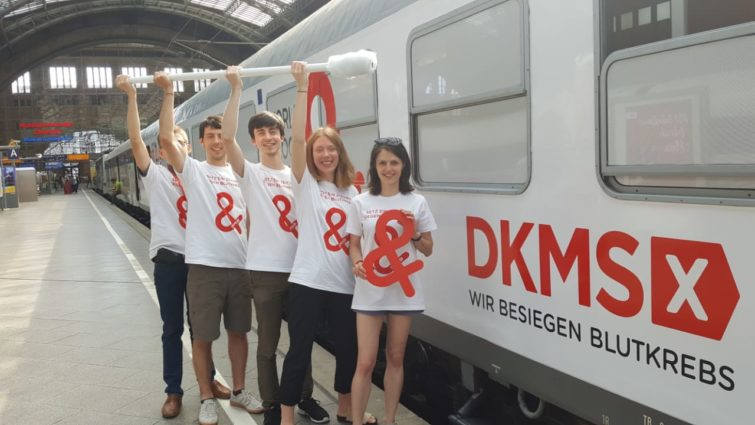 DKMS WBCD Pressetermin in Leipzig