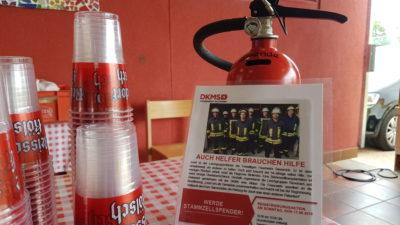 Eindrücke von der Aktion für Feuerwehrmann Josef