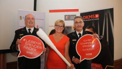 DFV und DKMS: Gemeinsam Leben retten!