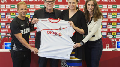 1. FC Köln: REWE gibt Trikot frei für DKMS