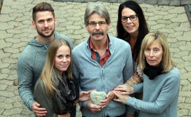Norbert mit Familie