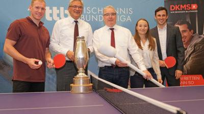 Tischtennis Bundesliga unterstützt DKMS