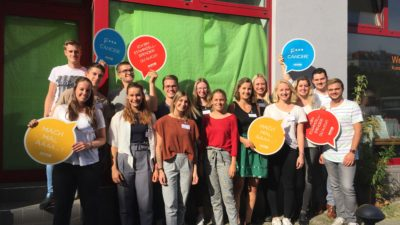 Volunteer Workshop in Berlin