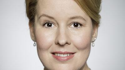 Im DKMS-Talk: Bundesministerin Dr. Franziska Giffey