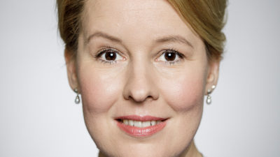 Im DKMS-Talk: Bundesministerin Franziska Giffey