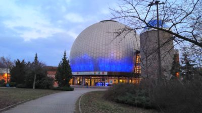 Das Zeiss-Planetarium in Berlin