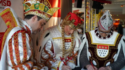 Kölner Dreigestirn setzt DKMS-Tradition fort