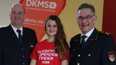 Feuerwehr rettet Leben: 5.000 Spender registriert