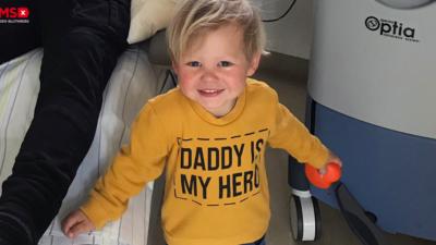 Zum Vatertag: Papa ist mein großer Held