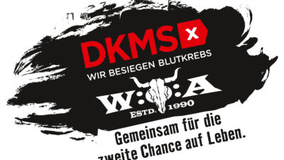 Kooperationslogo DKMS und W:O:A