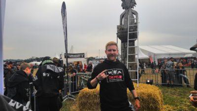 Spender Felix Ulrich auf Wacken