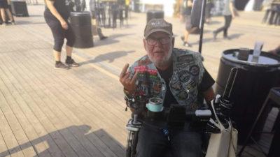 500,77 km im Rollstuhl für den guten Zweck