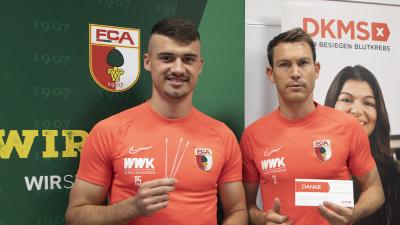 FC Augsburg stellt Blutkrebs ins Abseits