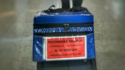 Transportkoffer für Stammzelltransplantate