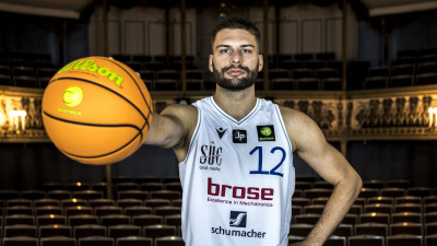 Erkrankter Basketballprofi Chris Wolf mit emotionalem Appell